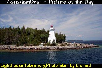 LightHouse,Tobermory,PhotoTaken