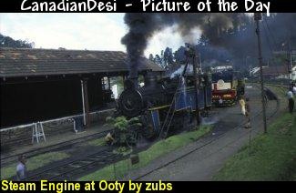 Steam Engine at Ooty